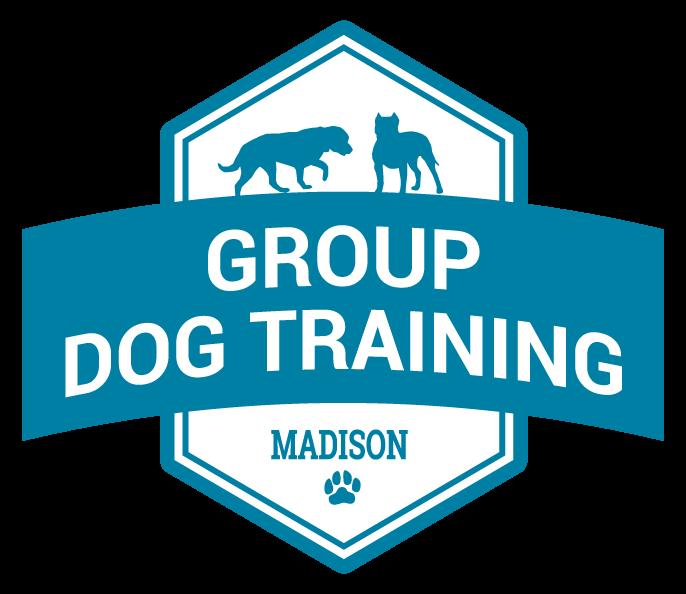 group dog training badge graphic