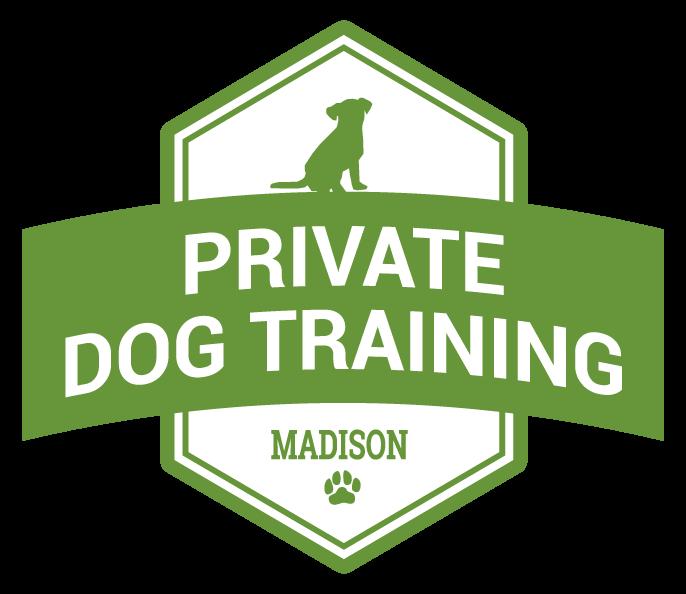 private dog training badge graphic